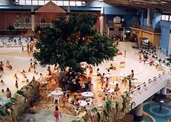 群馬 カリビアンビーチ 室内 プール